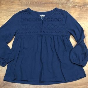 Girls size 10 OshKosh B'Gosh long sleeve shirt